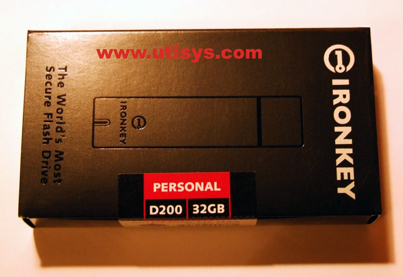 8GB IronKey Basic S200 D2-S200-S08-3FIPS